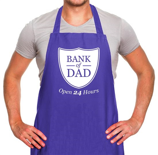 Bank Of Dad Apron