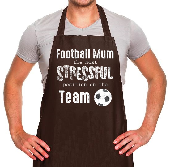 Football Mum Apron