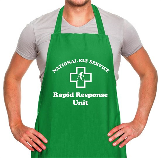 National Elf Service - Rapid Response team Apron