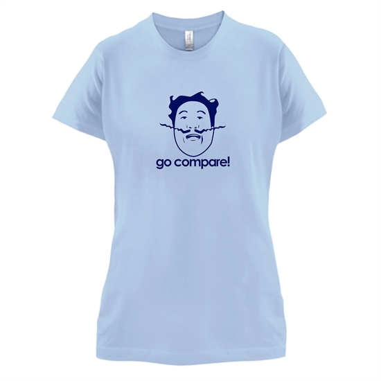 Go Compare! t-shirts for ladies
