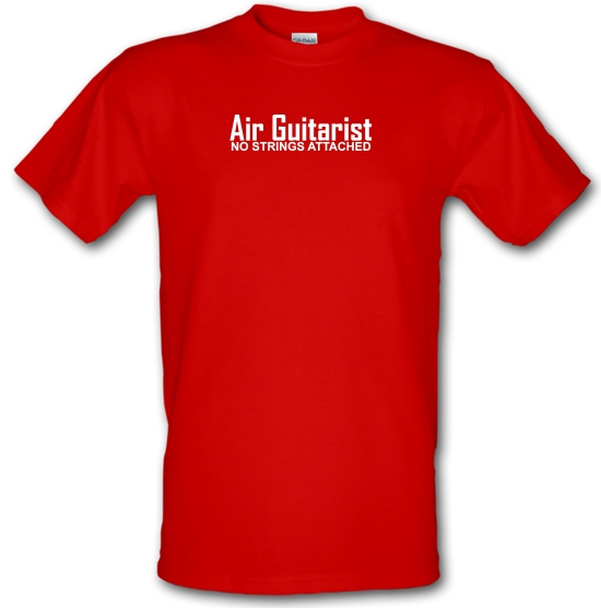 Air Guitarist - No Strings attached T-Shirts for Kids