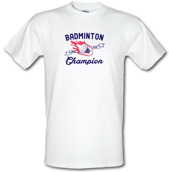 Badminton Champion T-Shirts for Kids