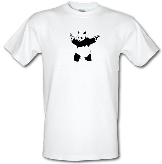 Banksy Panda T-Shirts for Kids