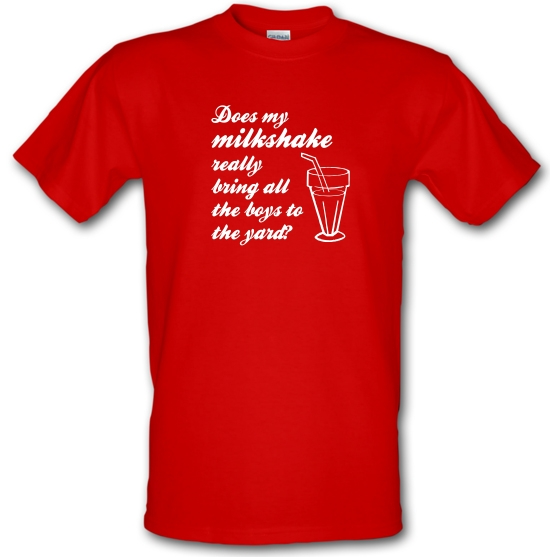 Does my milkshake really bring all the boys to the yard T-Shirts for Kids