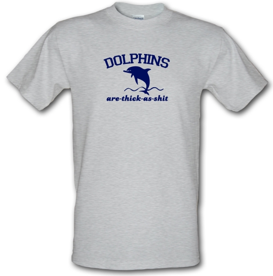 Dolphins Are Thick As Shit T-Shirts for Kids