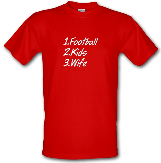 Football Kids Wife T-Shirts for Kids