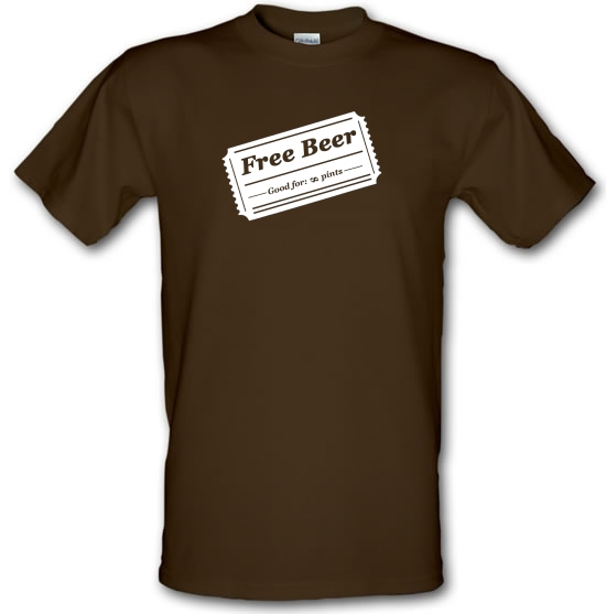 Free Beer T-Shirts for Kids