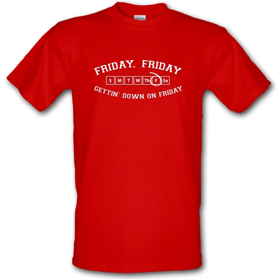 Friday Friday Gettin' Down On Friday T-Shirts for Kids