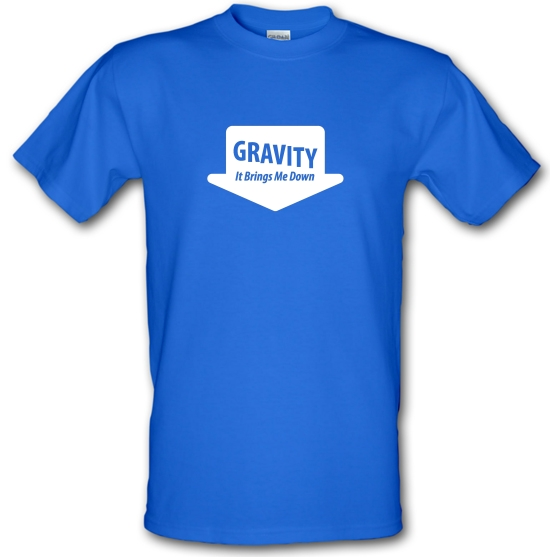 Gravity It Brings Me Down T-Shirts for Kids