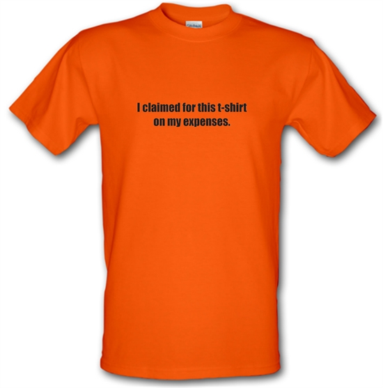 I Claimed For This T-Shirt On My Expenses T-Shirts for Kids