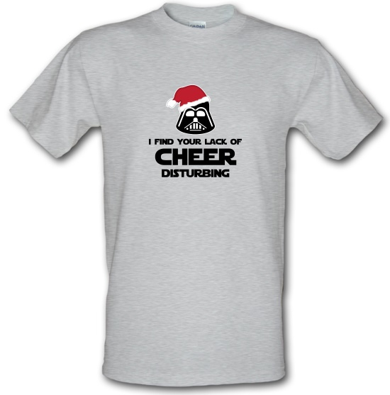 I Find Your Lack Of Cheer Disturbing T-Shirts for Kids