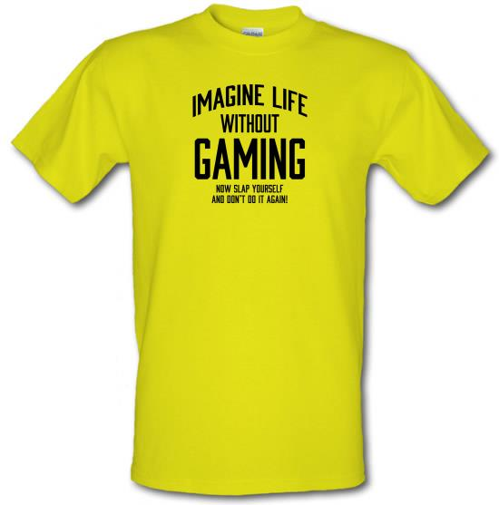 Imagine Life Without Gaming T-Shirts for Kids
