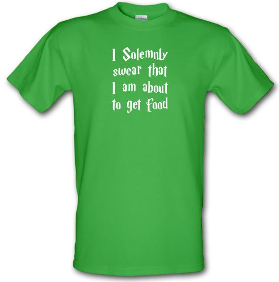 I Solemnly Swear That I Am About To Get Food T-Shirts for Kids