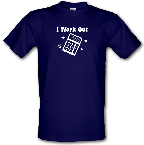 I Work Out T-Shirts for Kids