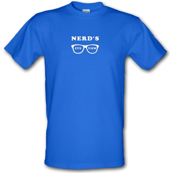 Nerd's Eye View T-Shirts for Kids