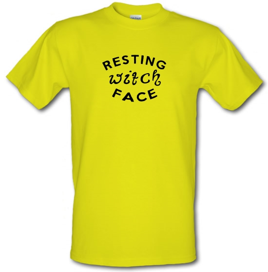 Resting Witch Face T-Shirts for Kids