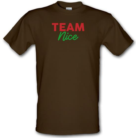 Team Nice T-Shirts for Kids