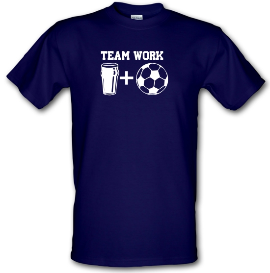 Teamwork, beer and football T-Shirts for Kids