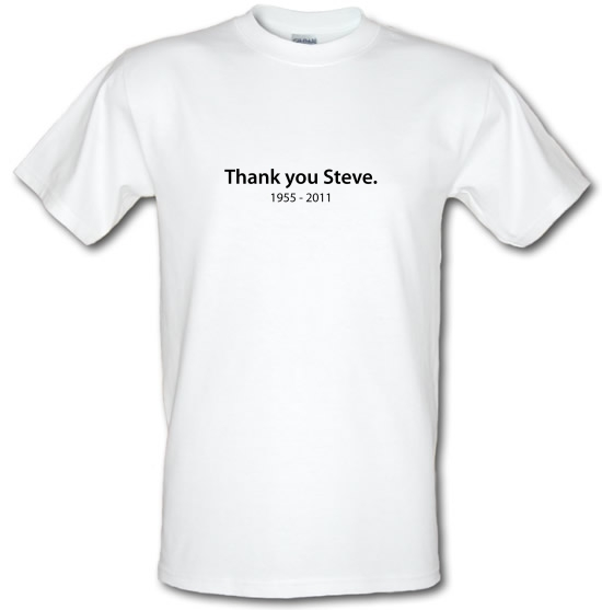 Thank You Steve T-Shirts for Kids