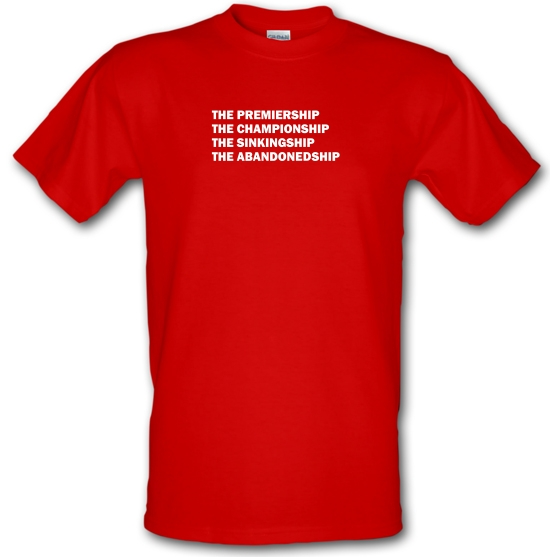 The premiership, the championship, the sinkingship, the abandonship T-Shirts for Kids