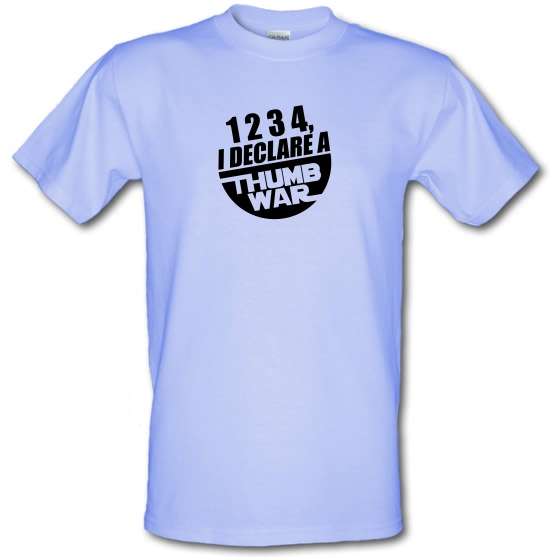 1234, I Declare A Thumb War T-Shirts for Kids