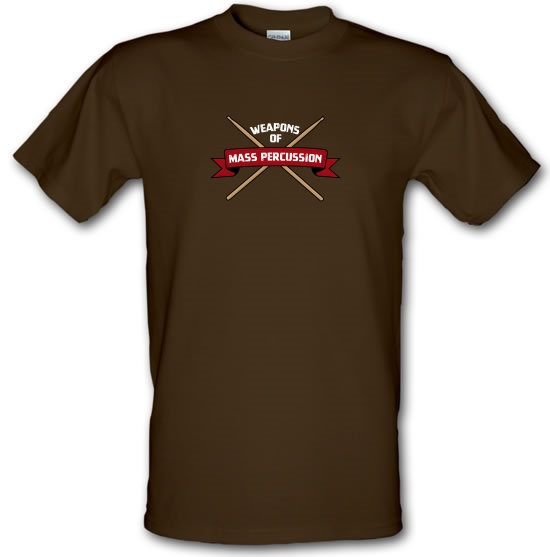 Weapons Of Mass Percussion T-Shirts for Kids