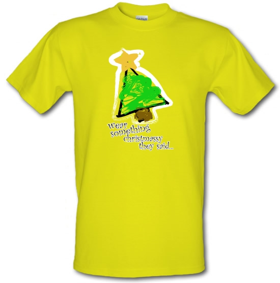 Wear Something Christmassy T-Shirts for Kids