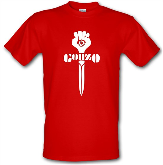 Gonzo Fist t-shirts