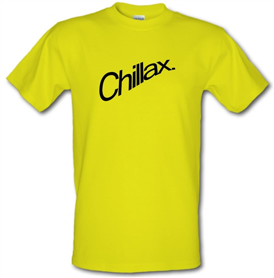 Chillax t-shirts