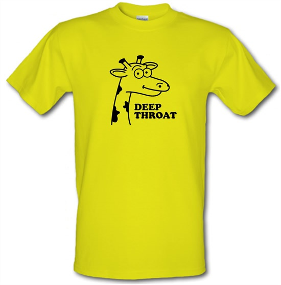 Deep Throat t-shirts