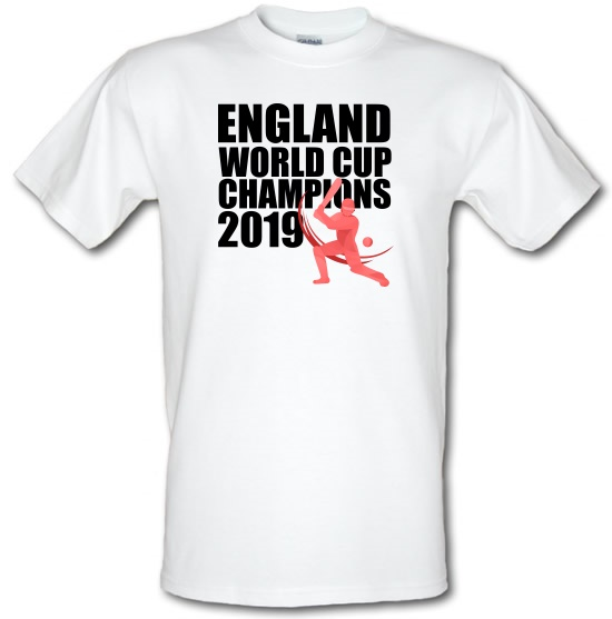 England World Cup Champions t-shirts