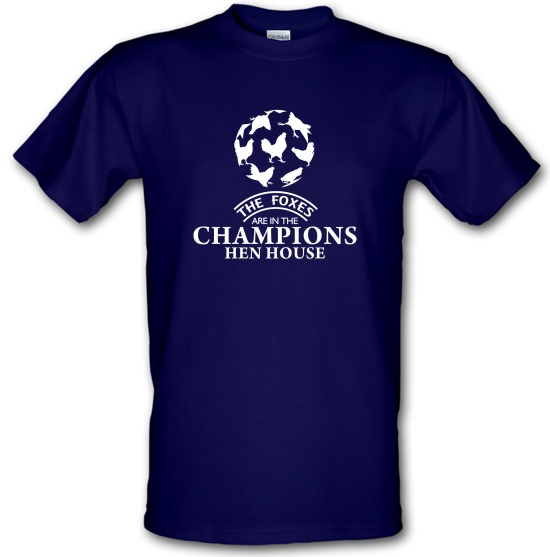 Foxes in the Champion's Henhouse t-shirts