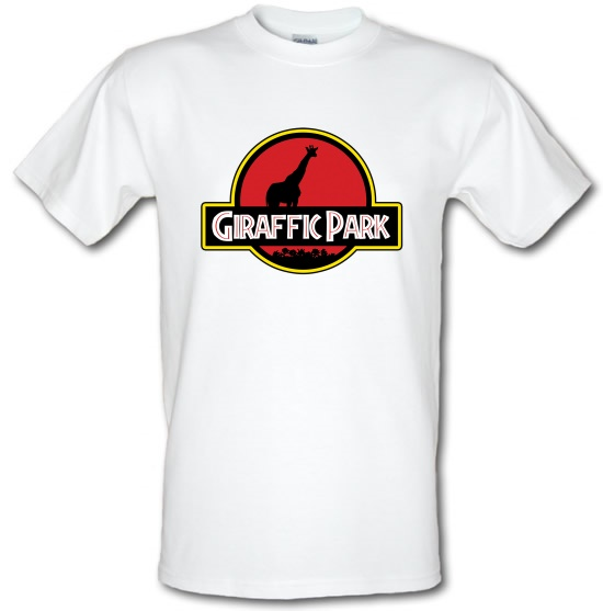 Giraffic Park t-shirts