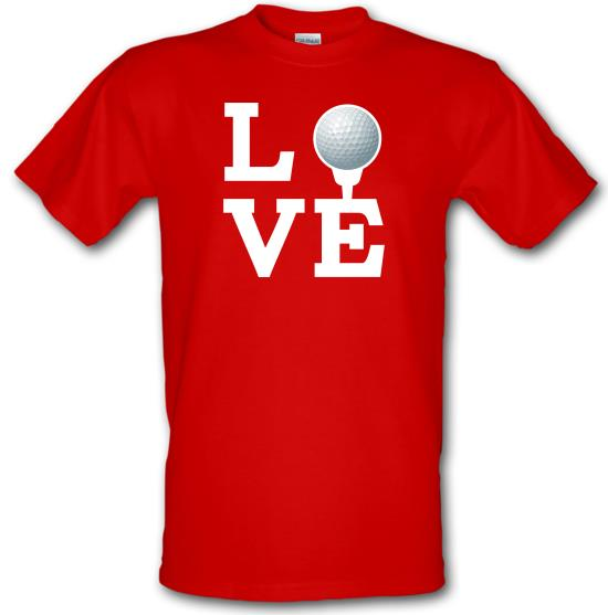 Golf Love t-shirts