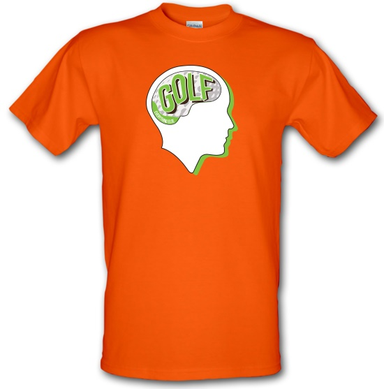 Golf On The Brain t-shirts
