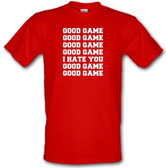 Good Game t-shirts