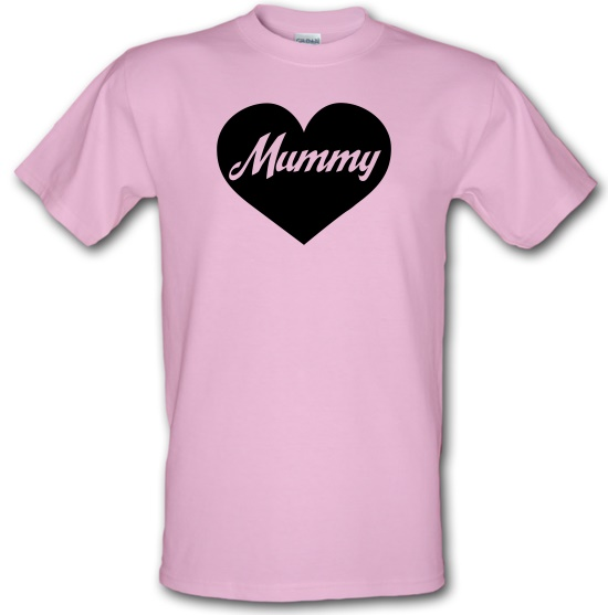 Heart Mummy t-shirts