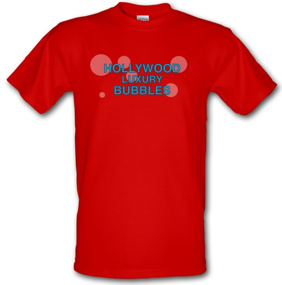 Hollywood Luxury Bubbles Car Wash t-shirts