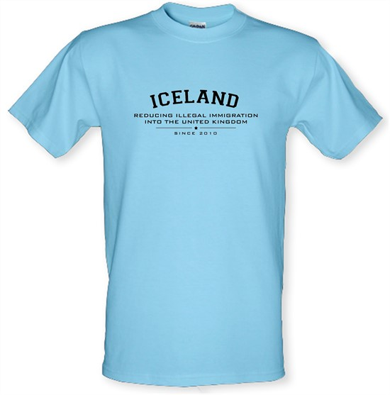 Iceland Reducing Illegal Immigration Since 2010 t-shirts