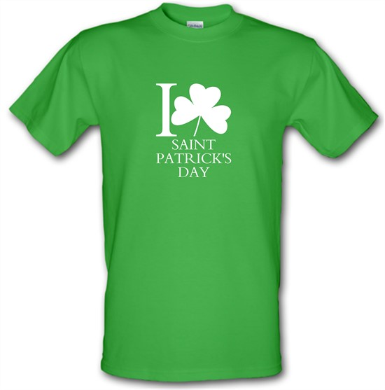 I Love Saint Patrick's Day t-shirts