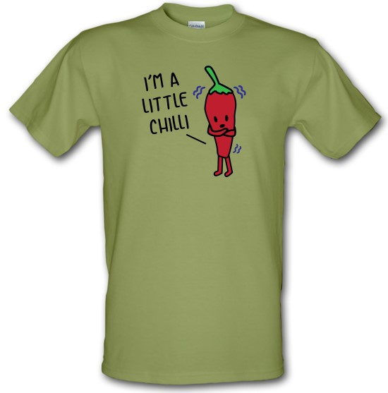 I'm A Little Chilli t-shirts