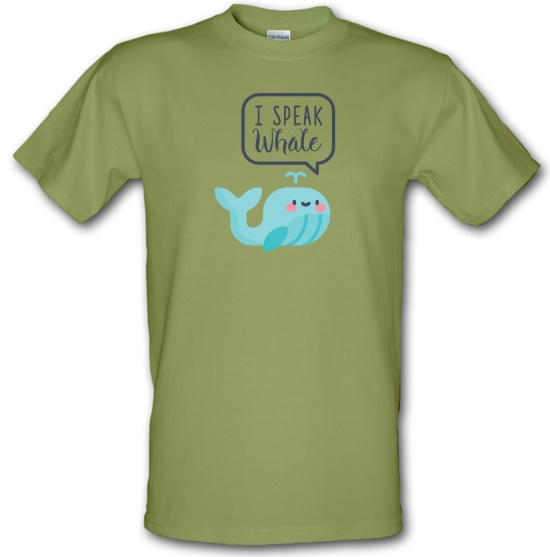 I Speak Whale t-shirts