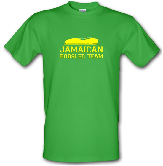 Jamaican Bobsled Team t-shirts