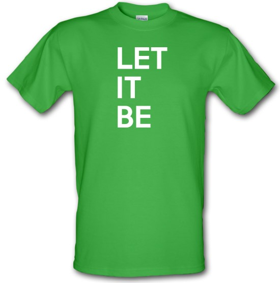 Let It Be t-shirts