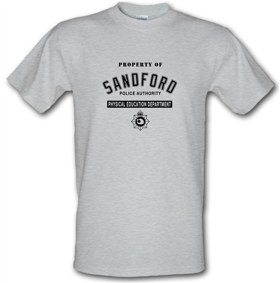 Property Of Sandford Police Authority t-shirts