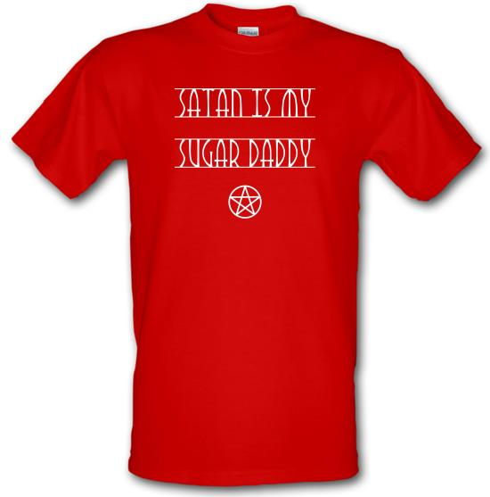 Satan Is My Sugar Daddy t-shirts