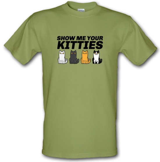 Show Me Your Kitties t-shirts