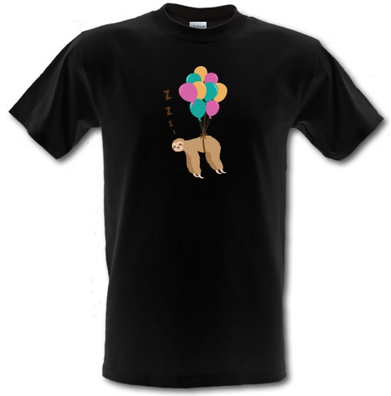 Floating Sloth t-shirts