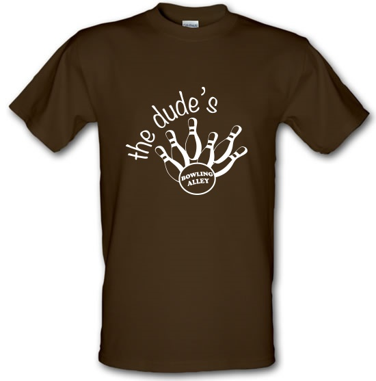 The Dudes Bowling t-shirts