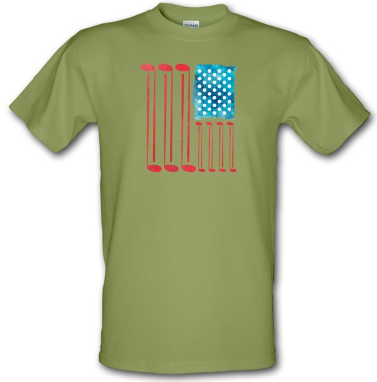United States of Golf America t-shirts